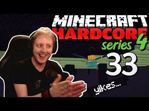 """Minecraft Hardcore - S4E33 - """"Prepping the END for DESTRUCTION"""" • Highlights"""