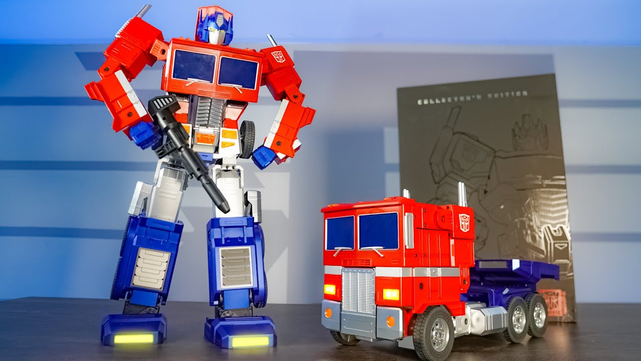 UNBOXING & LETS PLAY! -  OPTIMUS PRIME - Ultimate Transformers Humanoid Robot w/ 27 Servos!