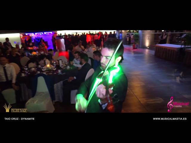 Taio Cruz - Dynamite RESTAURANTE PROMENADE Bodas Murcia VIOLIN HOUSE
