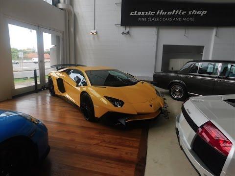 Classic car throttle shop