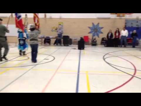 American Indian magnet school powwow