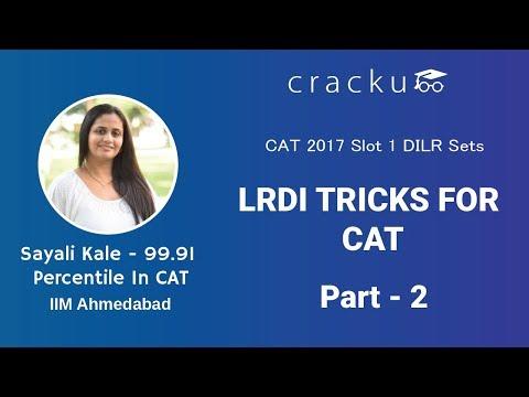 CAT 2017 Slot 1 - LRDI Sets (Detailed Explanation) - Part 2