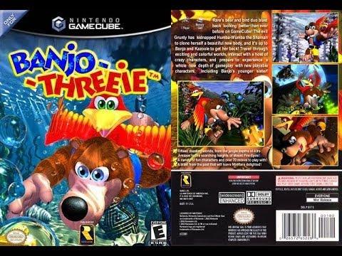 Juegos Cancelados Banjo Threeie Banjo Kazooie 3