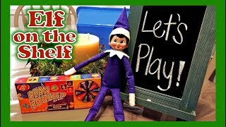 Purple Elf on the Shelf Compilation! Sparkles Days 9 - 16 Christmas 2016