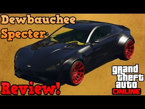 GTA online guides - Dewbauchee Specter review