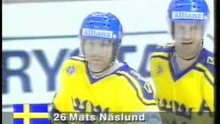 Ishockey-VM 1991-04-28: Sverige-Sovjet (SWE-URS) 5-5