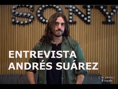 """ANDRÉS SUÁREZ, """"DESDE UNA VENTANA"""" : """"ES UN DISCO TAN PERSONAL QUE CHOCA CON MI TIMIDEZ"""""""