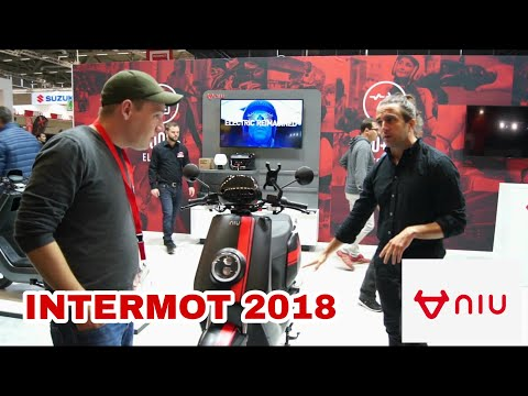 NIU eScooters All New NGT and M+ 2019 at Intermot 2018 walkaround with Joseph Constanty