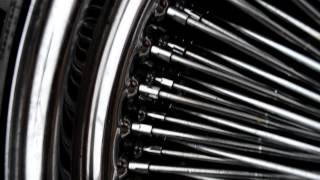 Хромированные спицевые колёса 20