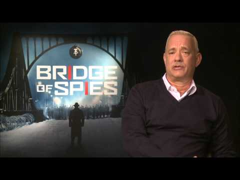 Bridge of Spies - Tom Hanks On Working With Mark Rylance
