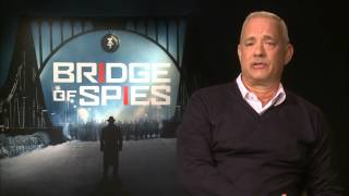 Bridge of Spies - Tom Hanks On Working With Mark Rylance
