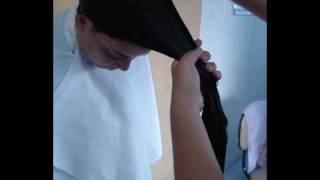 Corte - Como repicar seu cabelo em casa.