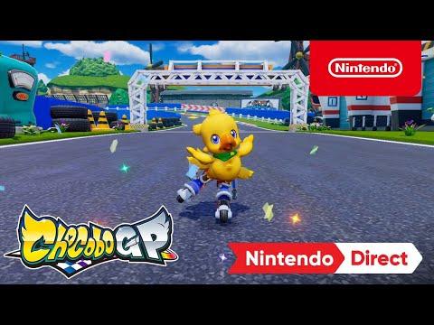 Chocobo GP – Announcement Trailer – Nintendo Switch