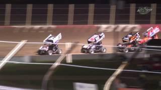 Millstream Speedway All Star Sprint Car Highlights