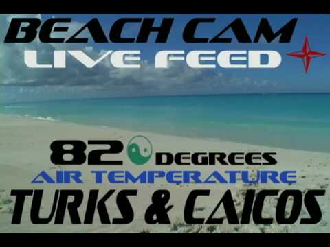 Turks and Caicos Beach webcam