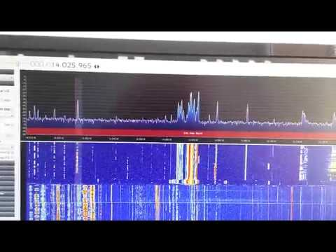 RTL-SDR + UP-64 test on 14MHz