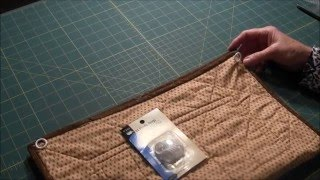 Needlepointers.com Quick Tip 19 - How to Hang A Quilted Wall Hanging