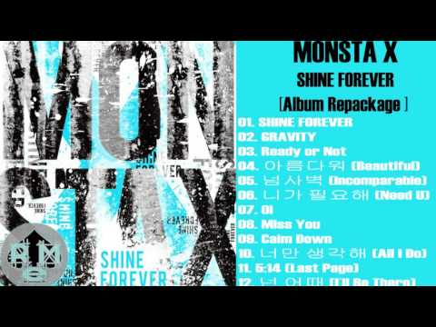 [Album] MONSTA X – SHINE FOREVER (MP3 DOWNLOAD) [ Repackage]