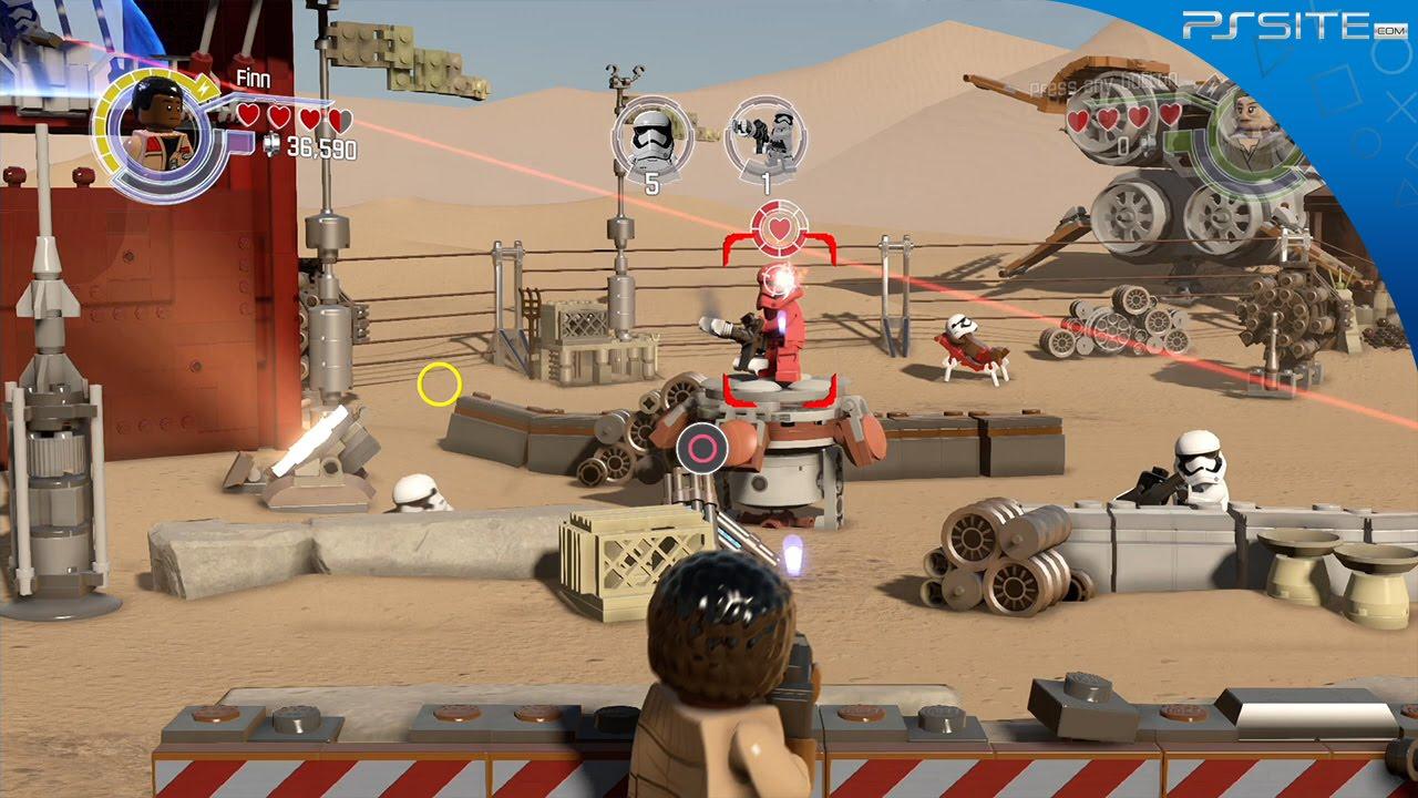 ps site lego star wars przebudzenie mocy  ps4 demo