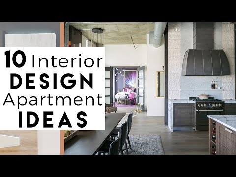 Apartment Design Top 10 Interior Design Ideas Youtube