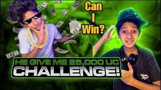 25,000 UC Challenge!😱| (Facecam)🔥 | Can i Win?🥵 | PubgM | Vampire YT