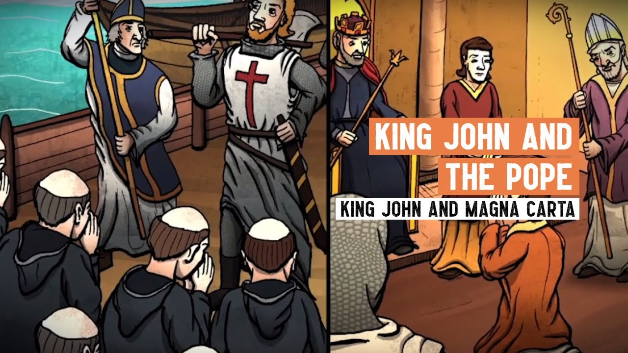 Download King John and the Pope   Magna Carta   3 Minute History
