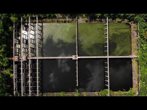 Abandoned Hackensack Waterworks - Drone