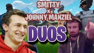 Smitty And Johnny Manziel Dominate Fortnite Duos