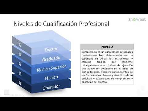 Formación Profesional: Cualificaciones
