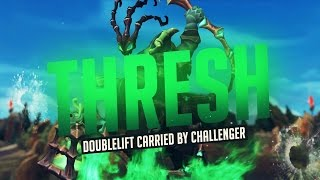 Doublelift- Carried by Challenger Thresh