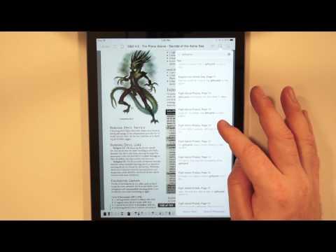 iPad Air PDF Experience