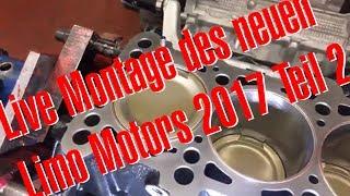 Live Montage des neuen RS4 Limo Motors bei BP Teil 2 mit Philipp Kaess von Hannover Hardcore