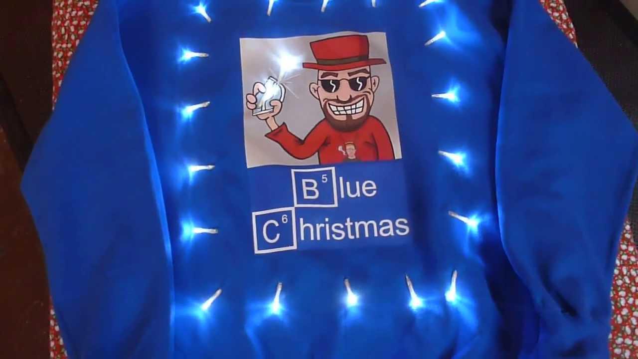 Blue Christmas | Breaking Bad Christmas Sweater | Christmas ...
