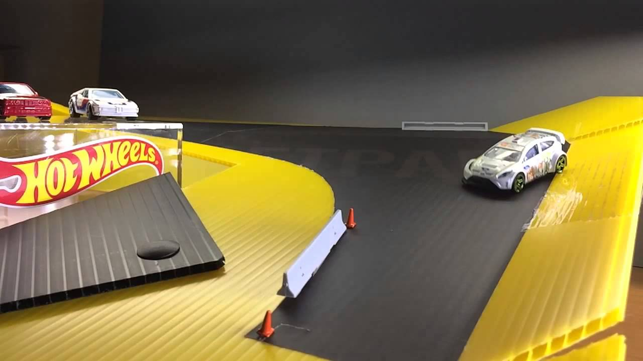 Hot Wheels Drift Circuit Track Youtube