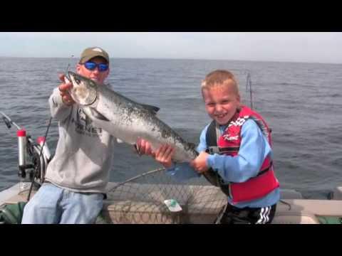 Luke Salmon Door County Salmon Fishing Sturgeon Bay