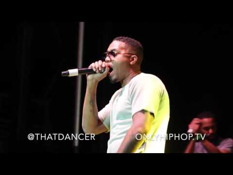 Nas Performs at 9 Mile Music Festival in Miami