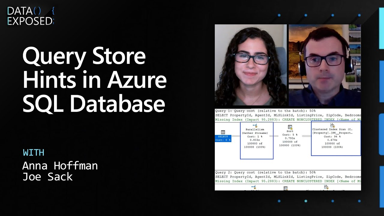 Query Store Hints in Azure SQL Database   Data Exposed