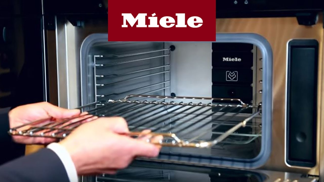 einbau dampfgarer mit mikrowelle technik miele youtube. Black Bedroom Furniture Sets. Home Design Ideas