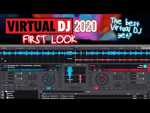 Virtual DJ 2020: The Best Virtual DJ Yet? First Look Review!