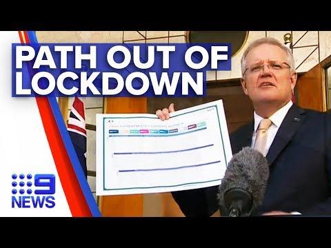 Coronavirus: Australia to come out of lockdowns | Nine News Australia thumbnail