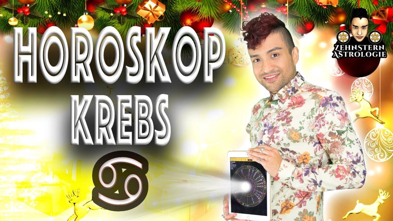 HOROSKOP KREBS DEZEMBER 2018 - YouTube