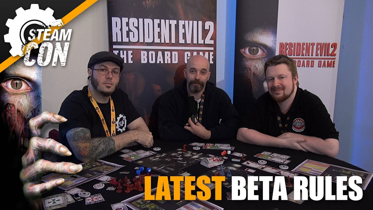 Let's Play: Resident Evil 2: The Board Game - The S T A R S Office with New  Rules