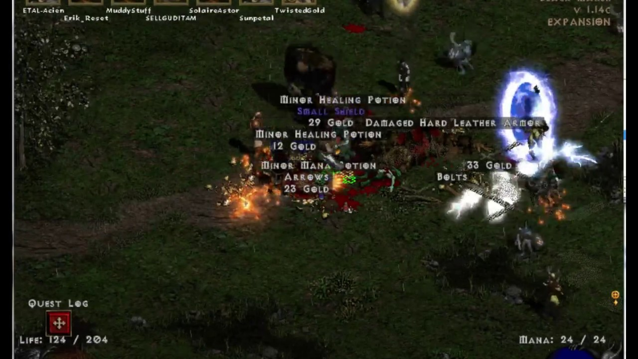 Diablo 2 Ladder Reset Day with Project Etal