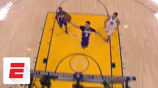 Lonzo Ball comes out of nowhere to turn airball into buzzer-beater | ESPN