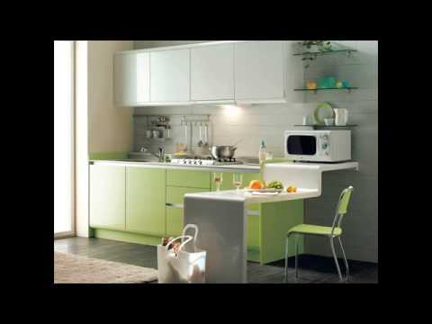 Interior design open plan kitchen living room youtube for 1 bhk living room interior
