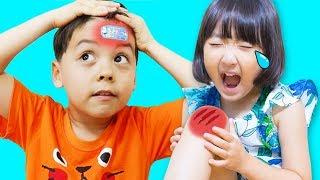 The Boo Boo Story Nursery Rhymes & Kids Song 뽀로로 캐릭터 밴드 놀이 Mashu Vlog