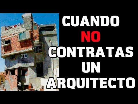 Cuando NO Contratas a un Arquitecto