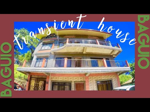 Vlog #3: Transient House In Baguio (House Tour)