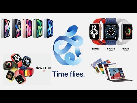 Apple Watch Series 6, SE, iPad 8 et iPad Air 4 : Résumé des annonces d'Apple