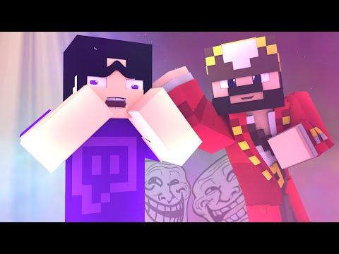 Nooby Twitch Streamer Gets Trolled on Minecraft (Minecraft Trolling)
